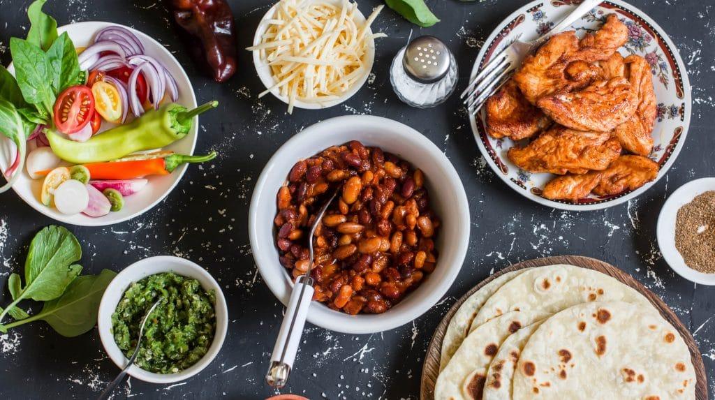 traditional mexican food culture - El Rincon
