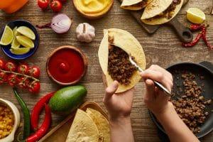 Popular Mexican Foods at El Rincon