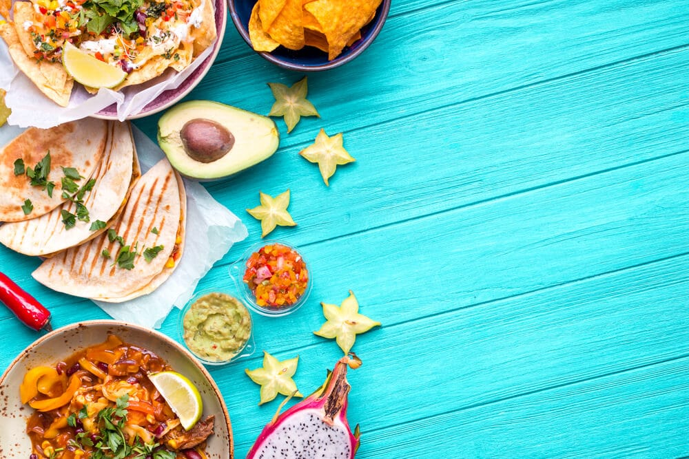 Mexican food background - El Rincon Mexican Kitchen & Tequila Bar
